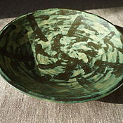 Посуда ручной работы. Ярмарка Мастеров - ручная работа тарелка керамическая. Handmade.