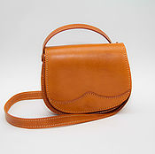Сумки и аксессуары handmade. Livemaster - original item Women`s handbag made of genuine leather