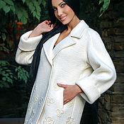 Одежда handmade. Livemaster - original item Light woolen coat