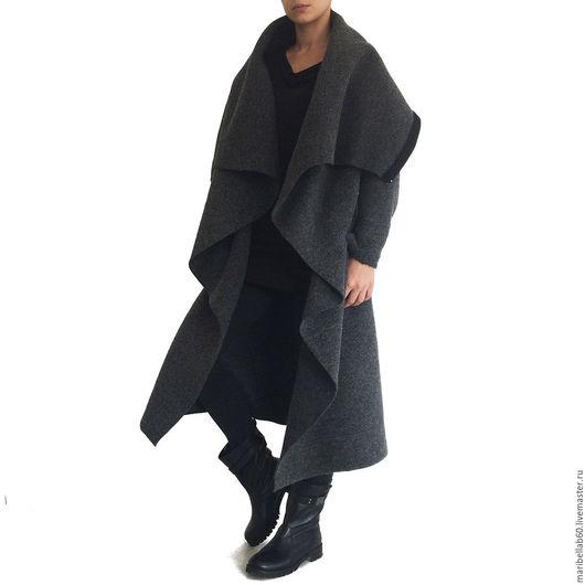 Верхняя одежда ручной работы. Ярмарка Мастеров - ручная работа. Купить Пальто зимнее.Модные пальто Осень-зима.Из итальянской шерсти - SAMURAI. Handmade.