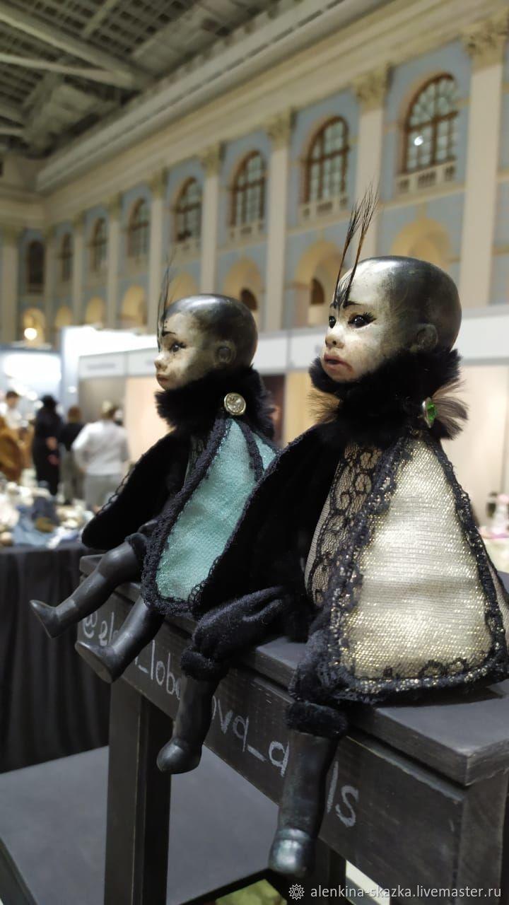 Мотыльки. Реплика антикварной головы, Куклы и пупсы, Тула,  Фото №1