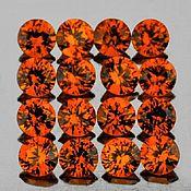 Кабошоны ручной работы. Ярмарка Мастеров - ручная работа Сапфир натуральный 1,07Ct 2,20мм 20шт IF-VVS Цейлон. Handmade.