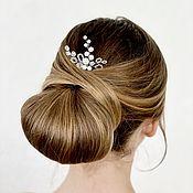 Свадебный салон handmade. Livemaster - original item Wedding hairpin