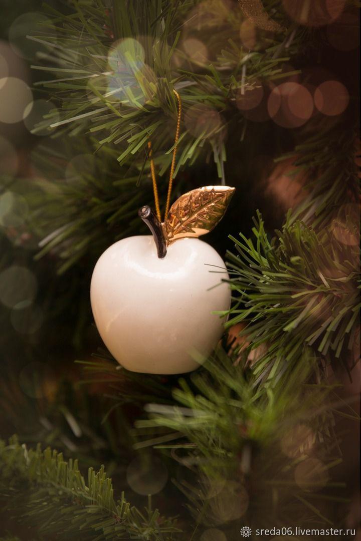 Яблочки Зимние Новогодние Игрушка на елку, Елочные игрушки, Сергиев Посад,  Фото №1