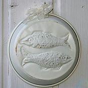 Посуда ручной работы. Ярмарка Мастеров - ручная работа Шебби-форма Рыбы. Handmade.