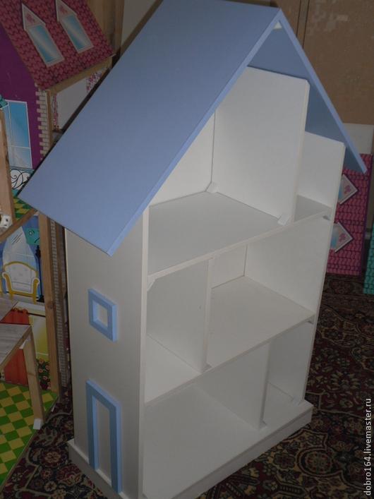 Кукольный дом ручной работы. Ярмарка Мастеров - ручная работа. Купить домик для куклы № 1. Handmade. Белый