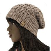 Аксессуары handmade. Livemaster - original item Knitted hat Pavella. Handmade.