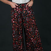 Одежда handmade. Livemaster - original item Summer, cotton pants, perfect for hot summer - PA0505CTSL. Handmade.