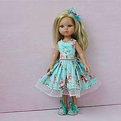 Куклы и игрушки ручной работы. Ярмарка Мастеров - ручная работа Хлопковое платье для куколок Паола Рейна и аналогов. Handmade.