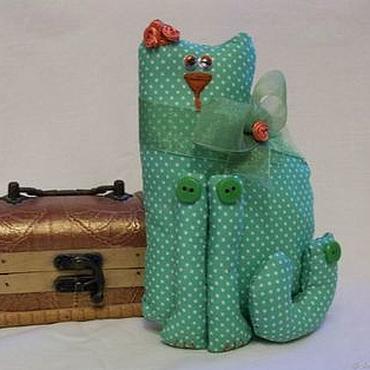 Текстильная кошка Леди.
