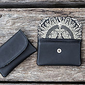 Сумки и аксессуары handmade. Livemaster - original item Wallet made of leather . Leather purse. Handmade.
