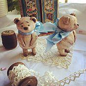 Куклы и игрушки ручной работы. Ярмарка Мастеров - ручная работа Мишки Топтыжки. Handmade.