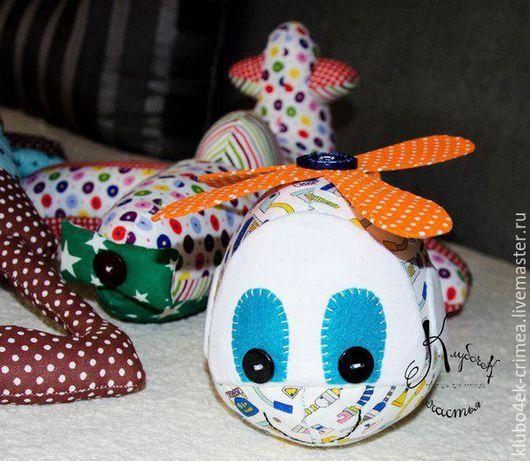 Детская ручной работы. Ярмарка Мастеров - ручная работа. Купить Мягкие игрушки. Handmade. Комбинированный, самолетик, собачка игрушка