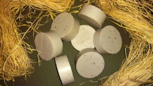 """Мыло ручной работы. Ярмарка Мастеров - ручная работа. Купить Натуральное мыло """"Дуэт"""". Handmade. Бежевый, ламинария, лечебное мыло"""