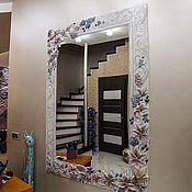"""Для дома и интерьера ручной работы. Ярмарка Мастеров - ручная работа Зеркало """"Лилии"""". Handmade."""