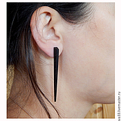 Украшения handmade. Livemaster - original item stylish long earrings.. Handmade.