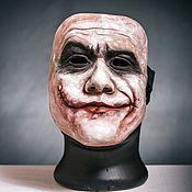 Accessories handmade. Livemaster - original item Accessories: Joker Mask Dark Knight Heath Ledger. Handmade.