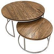 Для дома и интерьера handmade. Livemaster - original item Set of coffee tables from Karagach. Handmade.