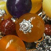 Украшения handmade. Livemaster - original item bracelet agate bracelet aventurine