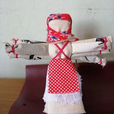 """Куклы и игрушки ручной работы. Ярмарка Мастеров - ручная работа Куклы: Обрядовая кукла """"Десятиручка"""". Handmade."""