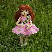 Куклы и игрушки ручной работы. Ярмарка Мастеров - ручная работа Весна- платье для кукол. Handmade.