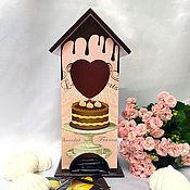 """Для дома и интерьера ручной работы. Ярмарка Мастеров - ручная работа Чайный домик """"Des desserts"""". Handmade."""