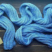 Аксессуары ручной работы. Ярмарка Мастеров - ручная работа весенний шарф из хлопка и вискозы. Handmade.