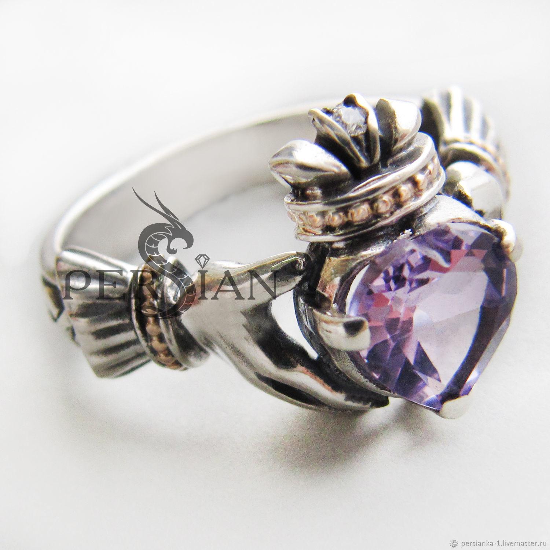 Серебряное кольцо Кладдах, Кольца, Севастополь,  Фото №1