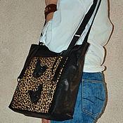 Сумки и аксессуары handmade. Livemaster - original item Bags: Bag pack - Sphinx cat. Leopard. Handmade.