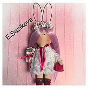 Куклы и игрушки ручной работы. Ярмарка Мастеров - ручная работа Интерьерная, текстильная кукла. Handmade.