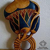 """Для дома и интерьера handmade. Livemaster - original item Шкатулка деревянная """"Лотос"""". Handmade."""