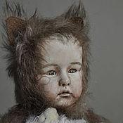 Куклы и игрушки ручной работы. Ярмарка Мастеров - ручная работа Тедди-дети. Милый волчок.. Handmade.
