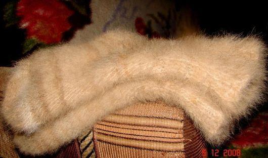 носки из пуха колли мужские