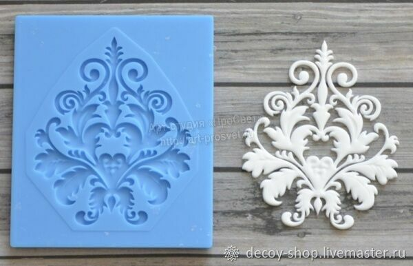 Mold pattern 'Damascus' ARTMD0118, Decor for decoupage and painting, Serpukhov,  Фото №1
