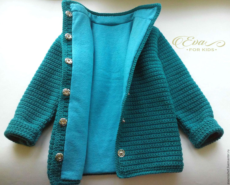 Мастер класс вязание пальто детское для 492