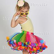 Работы для детей, handmade. Livemaster - original item Skirt-tutu tulle girl`s Carnival. Handmade.