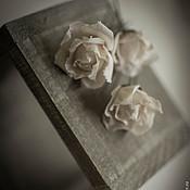"""Свадебный салон ручной работы. Ярмарка Мастеров - ручная работа Шпильки для прически """"Винтажные розы"""". Handmade."""