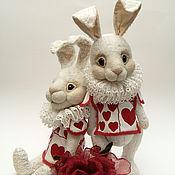 Куклы и игрушки ручной работы. Ярмарка Мастеров - ручная работа Белый кролик. Handmade.