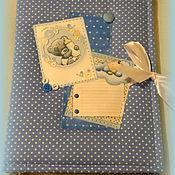 Подарки ручной работы. Ярмарка Мастеров - ручная работа Мишка Тедди - бебибук для мальчика. Handmade.