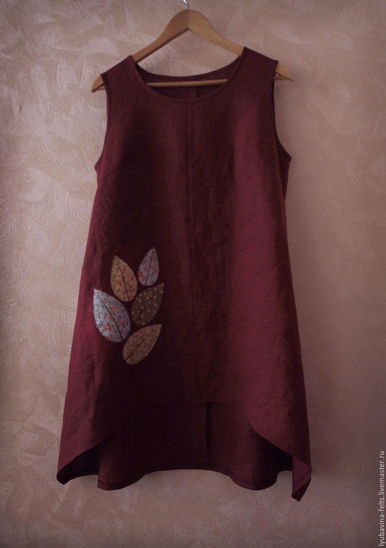 Платье из льна своим руками 87