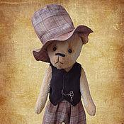 Куклы и игрушки ручной работы. Ярмарка Мастеров - ручная работа Мишка Мистер Твистер. Handmade.