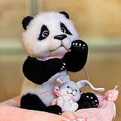 Куклы и игрушки ручной работы. Ярмарка Мастеров - ручная работа Моя зайка. Handmade.
