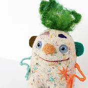 """Куклы и игрушки ручной работы. Ярмарка Мастеров - ручная работа войлочная игрушка """"Клоун Фифи"""". Handmade."""