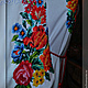 """Платья ручной работы. Платье """"Весенняя радуга"""". Индивидуальная вышиваночка. (oksanetta). Интернет-магазин Ярмарка Мастеров. Платье, Вышиванка"""