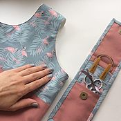 Органайзеры ручной работы. Ярмарка Мастеров - ручная работа Набор для вязальщицы Фламинго. Handmade.