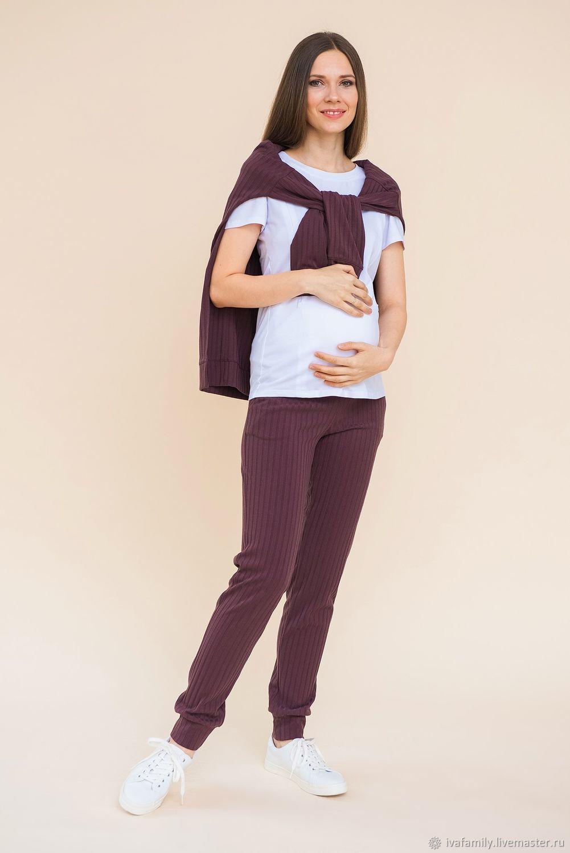 Брюки для беременных Амстердам мокко, Брюки, Москва,  Фото №1