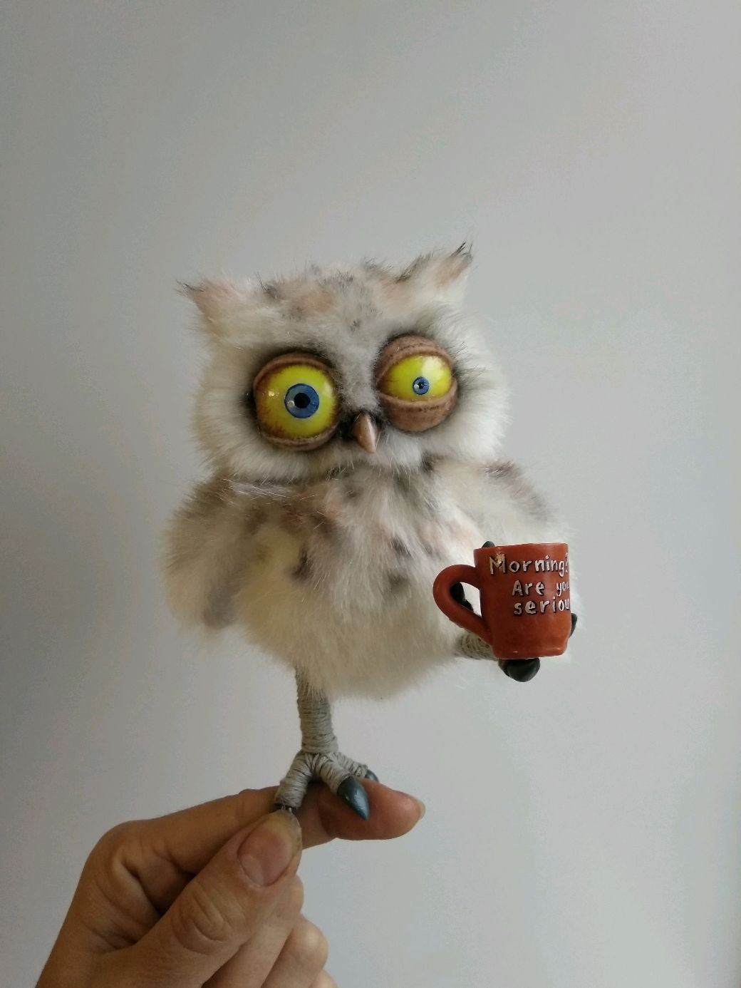 Смешная картинка с добрым утром сова, днем