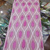 Материалы для творчества handmade. Livemaster - original item Uzbek cotton ikat hand weaving. FM157. Handmade.