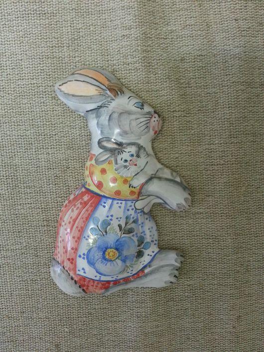 Магниты ручной работы. Ярмарка Мастеров - ручная работа. Купить Магнит Зайка. Handmade. Зайка, сувенир, кролик