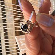 """"""" Miss Mary"""" золотое кольцо с натуральным бриллиантом"""